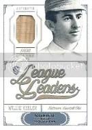 2012 National Treasures League Leaders