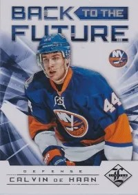 12/13 Panini Limited Hockey Back to the Future Insert