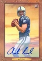 2013 Topps Turkey Red Andrew Luck Auto