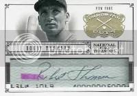 20112 National Treasures Bobby Thompson