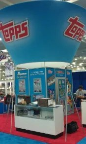 Topps Booth At National