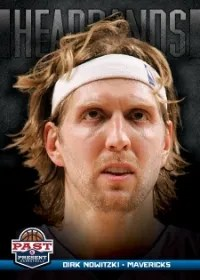 12/13 Panini Past & Present Headbands Dirk Nowitzki