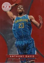 2012-13 Panini Totally Certified Red Anthony Davis #/499