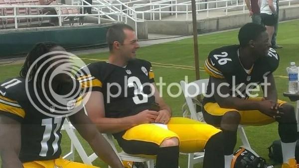 Steelers Rookies Markus Wheaton, Le'Veon Bell, Landry Jones