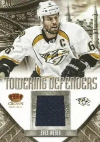 12/13 Panini Anthology Towering Defenders