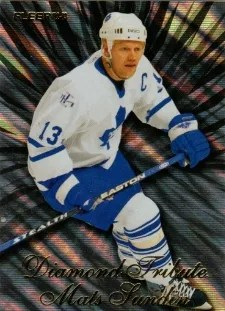 12-13 Fleer Retro Diamond Tribute #18 of 20 Mats Sundin