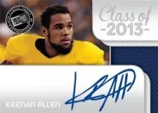 2013 Press Pass Showcase Keenan Allen