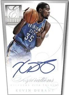 2012/13 Elite Series Aspirations Kevin Durant Auto