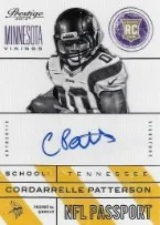 2013 Prestige Cordarrelle Patterson