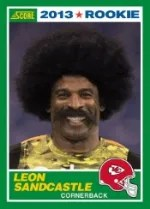 2013 Score Football #441 Leon Sandcastle