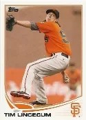 2013 Topps Series 1 Tim Lincecum Base