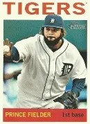2013 Topps Heritage Prince Fielder Sp
