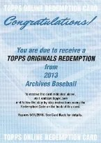 2013 Topps Archives Originals EXCH