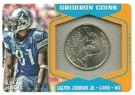 2012 Topps Magic Calvin Johnson Coin