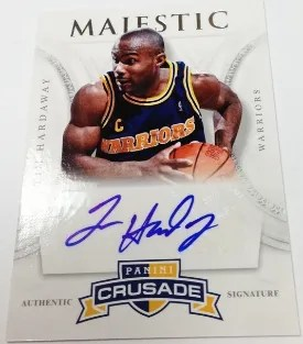 12/13 Panini Crusade Majestic Tim Hardaway Autograph Card