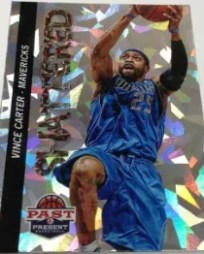 12/13 Panini Past & Present Shattered Vince Carter Insert