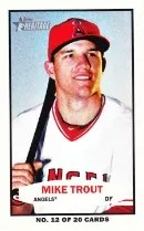 2013 Topps Heritage Mike Trout Bazooka
