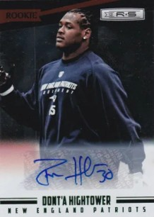 2012 Panini Rookies and Stars Longevity Autograph #171 Dont'a Hightower #/99