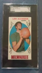 Lew Alcindor Rookie Card