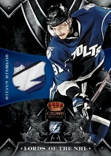 12/13 Panini Rookie Anthology Lords of the NHL Patch