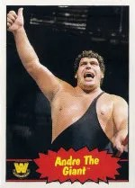 2012 Topps Heritage WWE Andre The Giant