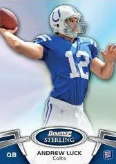 2012 Bowman Sterling Andrew Luck RC