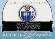 2012-13 Artifact Oilers Rookie EXCH