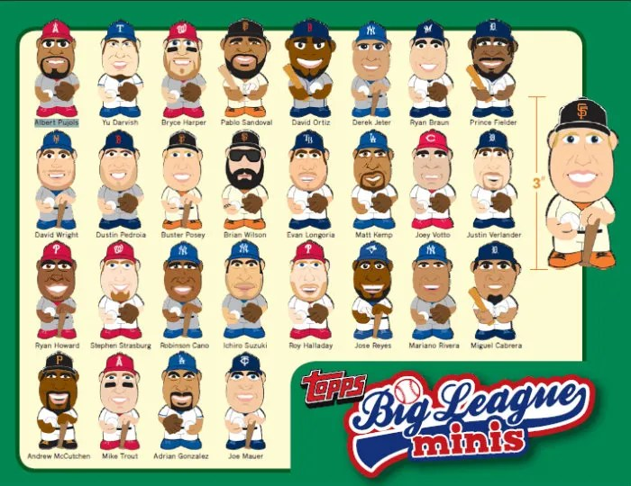 2013 Topps Big League Mini's
