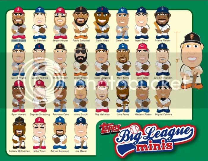 2013 Topps Big League Mini's