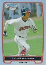 2012 Bowman Chrome Tyler Naquin