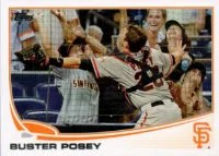 2013 Topps Buster Posey Out of Bounds Sp