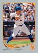 2013 Topps Series 2 David Wright Platinum