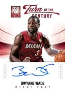12/13 Panini Elite Dwyane Wade Turn of the Century Autograph
