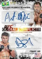 2012 Topps UFC Bloodlines Global COnflicts