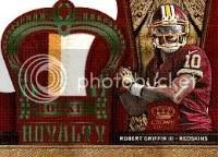 2012 Panini Crown Royale Robert Griffin III