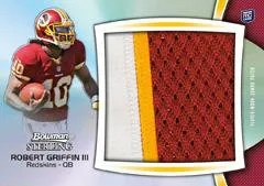 2012 Bowman Sterling Robert Griffin III Patch