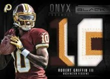 2012 Panini Black Robert Griffin III Patch