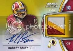2012 Bowman Sterling Robert Griffin III
