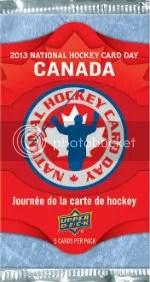 2012 Upper Deck National Hockey Card Day