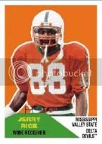 2012 Fleer Retro Football Jerry Rice