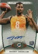 2012 Topps Platinum Jacory Harris RC Auto