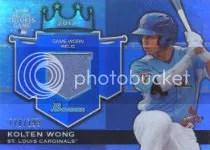 2012 Bowman Draft Kolten Wong Jersey