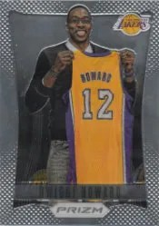 2012-13 Panini Prizm Dwight Howard Base Card w/Lakers