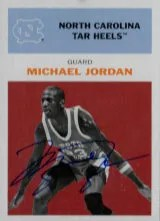2011-12 Fleer Retro Michael Jordan Auto