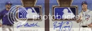 2012 Topps 5 Star Dual Book MLB Logo