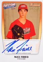 2012 Perfect Game Max Fried