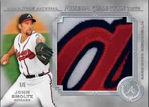2013 Topps Museum Collection John Smoltz Relic