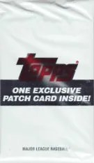 2013 Topps Patch Card Pack