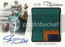 2012 Panini Prime Signatures Ryan Tannehill