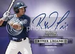 2012 Bowman Sterling Rymer Liriano